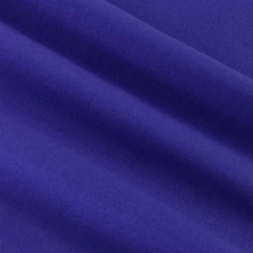Solid Basics Jersey Knit:  Blueberry