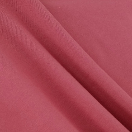 Solid Basics Jersey Knit:  Cinnabar