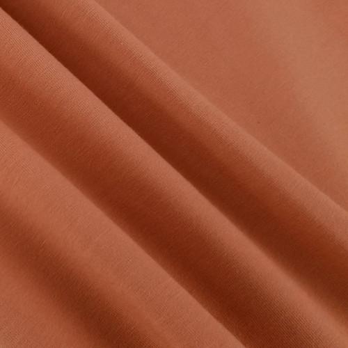 Solid Basics Jersey Knit:  Terracotta