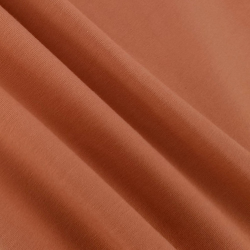 Solid Basics Jersey Knit:  Terracotta