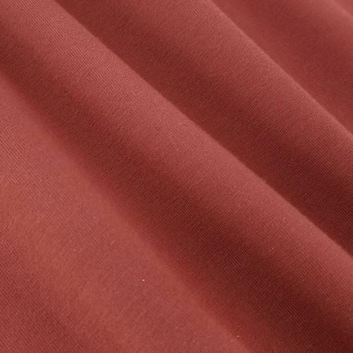 Solid Basics Jersey Knit:  Brick