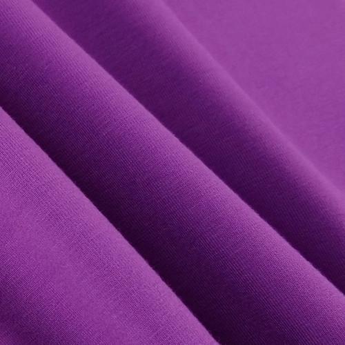 Solid Basics Jersey Knit:  Violet