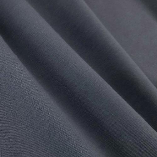 Solid Basics Jersey Knit:  Coal
