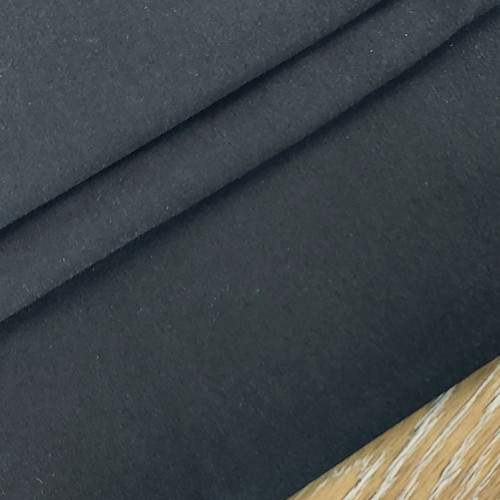 Solid Basics Jersey Knit:  Black