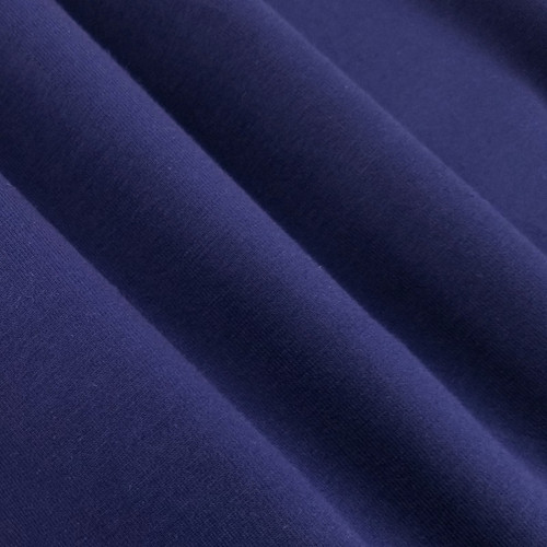 Solid Basics Jersey Knit:  Bright Navy