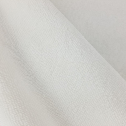 Bamboo Terry Towel: Soft White