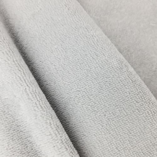Bamboo Terry Towel: Silver Grey