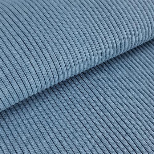 4 x 4 Heavy Ribbing:  Denim Blue
