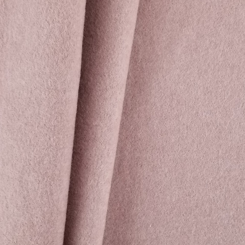 Cotton Double Fleece:  Heathered Antique Rose