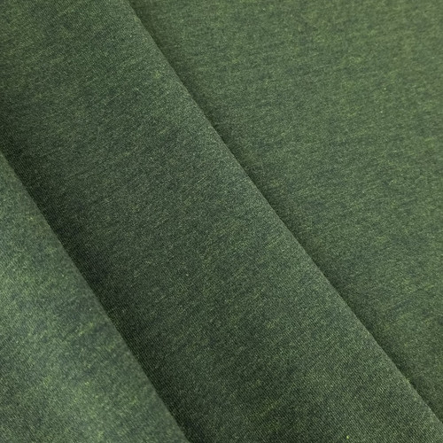 Heathered Jersey Knit: Pine Green