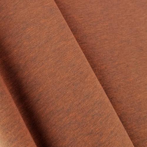 Heathered Jersey Knit: Orange Spice