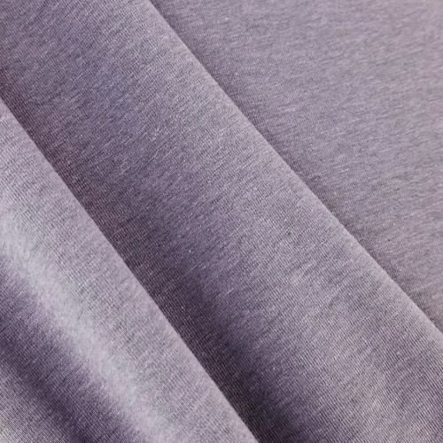 Heathered Jersey Knit: Lavender