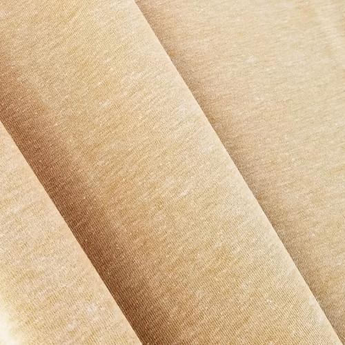 Heathered Jersey Knit: Honey