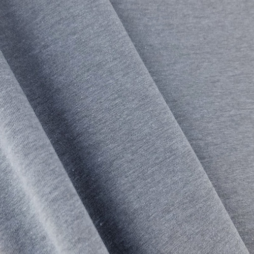 Heathered Jersey Knit: Periwinkle
