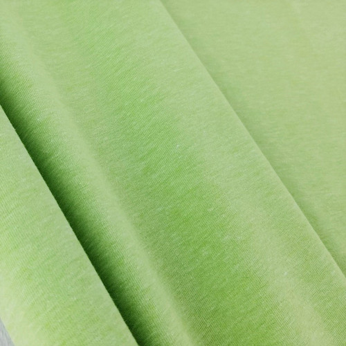 Heathered Jersey Knit: Lime