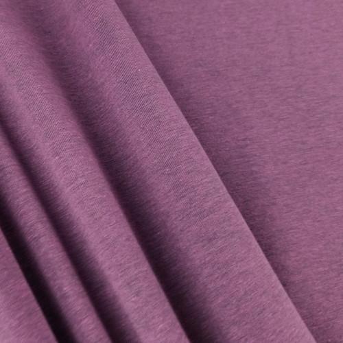 Heathered Jersey Knit:  Mulberry