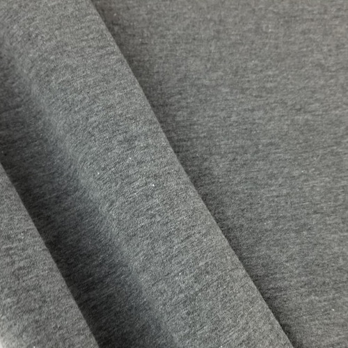 Heathered Jersey Knit: Grey