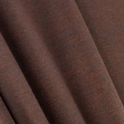 Heathered Jersey Knit:  Mahogany