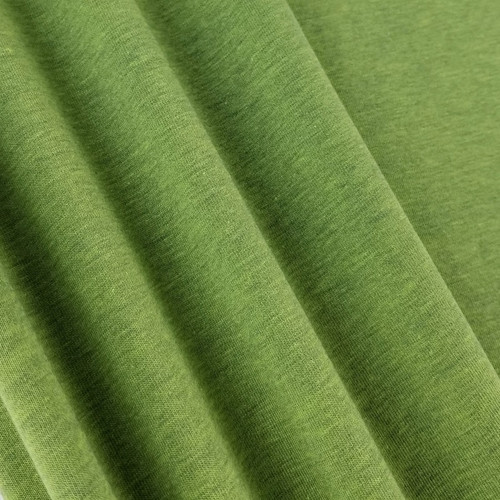 Heathered Jersey Knit:  Leaf Green