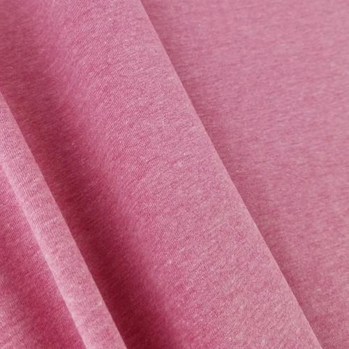 Heathered Jersey Knit: Cherry Pink