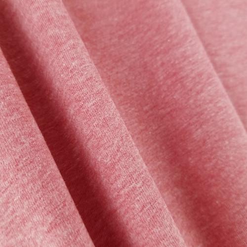Heathered Jersey Knit: Crimson