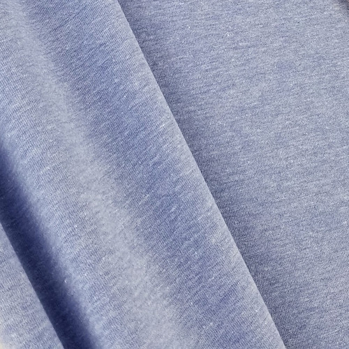 Heathered Jersey Knit: Cornflower