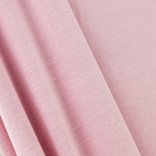 Heathered Jersey Knit: Pink