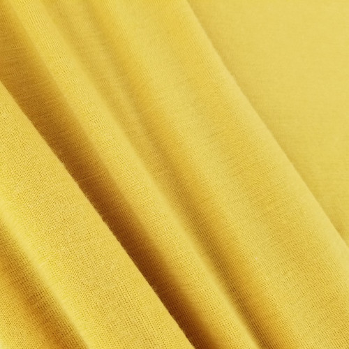 Merino Wool Knit: Marigold Yellow