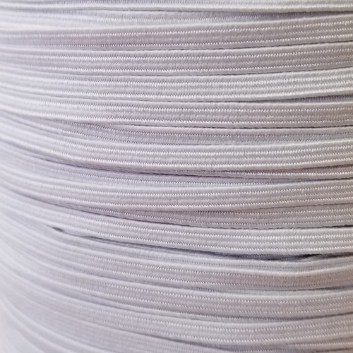 3 mm White Elastic