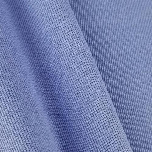 Bamboo Ribbing:  Mykonos Blue