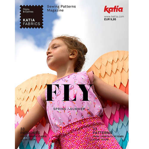 Fly: Katia's Spring & Summer 2021 Sewing Pattern Magazine