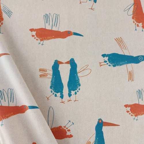 Animal Feet: Cotton Canvas by Katia