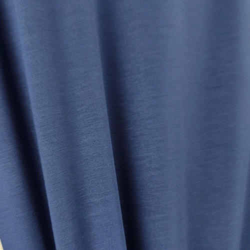 250 gsm Bamboo Jersey Knit:  Navy