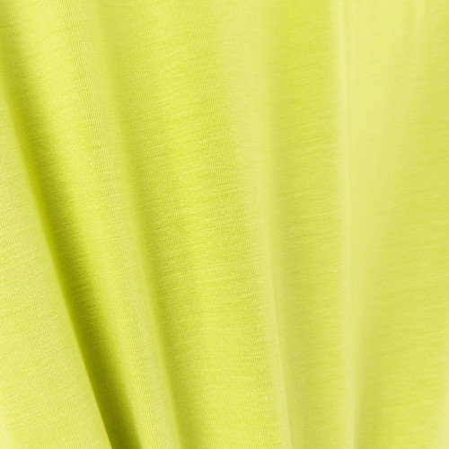 250 gsm Bamboo Jersey Knit:  Lemon Lime