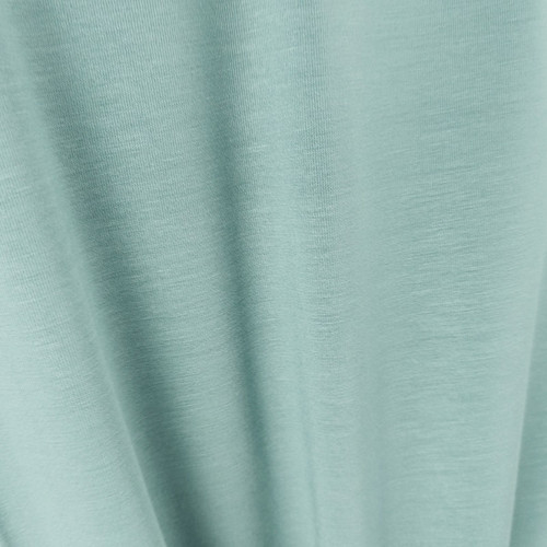 250 gsm Bamboo Jersey Knit:  Sea Mist Green