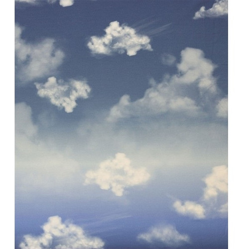 Cloudy Sky, Blue:  Modal French Terry Panel (measures approximately 70 cm)