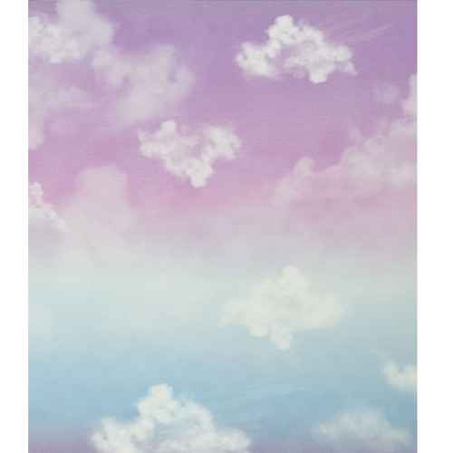 Cloudy Sky, Pink:  Modal French Terry Panel (measures approximately 70 cm)