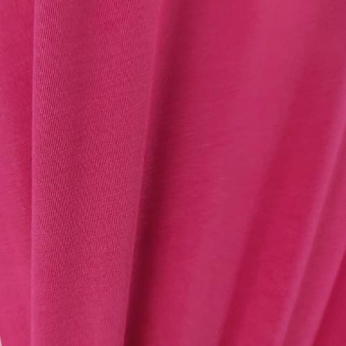 Tencel Modal Jersey Knit:  Amaranth Red