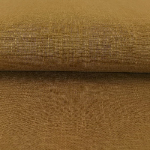 Linen 230g Enzyme Washed:  Toffee