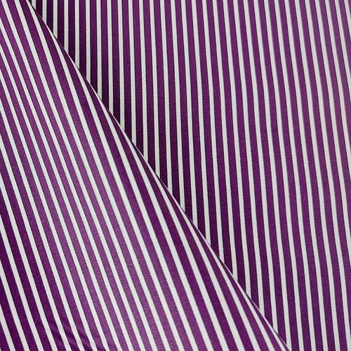 Simple Stripes, Purple:  Cotton Poplin