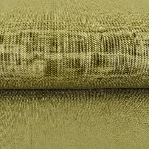 Linen 230g Enzyme Washed:  Olive Green