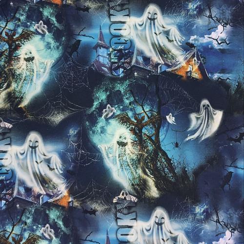 Spooky:  Digital French Terry, Stenzo