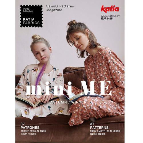 mini ME: Katia's Autumn & Winter 2021/2022 Sewing Pattern Magazine