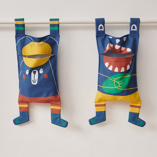 Monster Laundry Bags: Cotton Canvas Panel From Katia (approximately 95 cm)