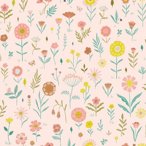 Botanist Flowers: Cotton Poplin from Katia