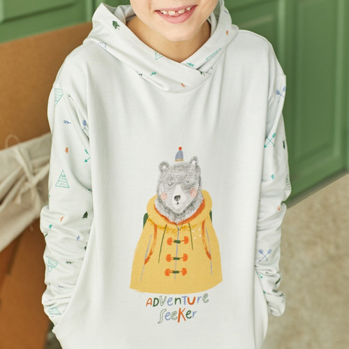 Adventure Seeker:  Rapport Brushed Sweatshirt from Katia  (approximately 125 cm)