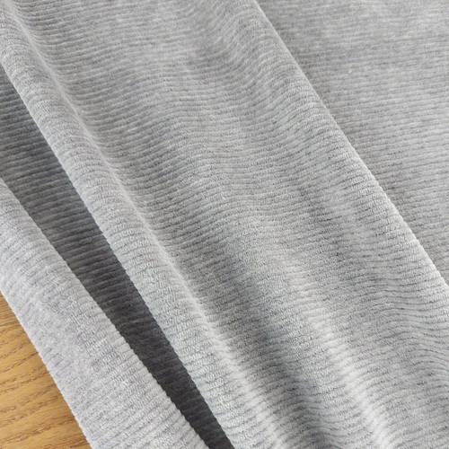 Knitted Corduroy: Heathered Grey