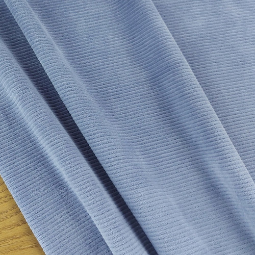 Knitted Corduroy: Country Blue
