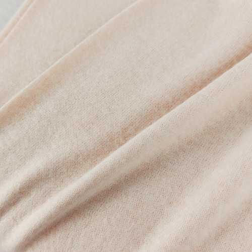 Recycled Brushed Jersey: Chalk Pink