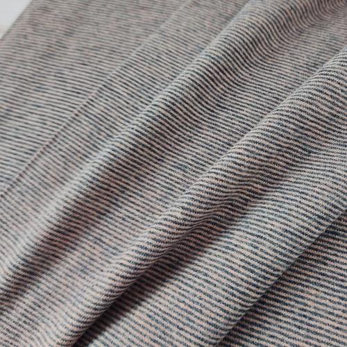 Multi-Stripe Jersey:  Rose & Anthracite